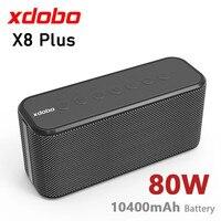 80W Super Power Audiophile Bluetooth Speaker Tube Subwoofer Super Bass USB/TF Card Music Center Sound Bar portatile