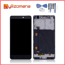 купить 5.0 1920x1080 Display For XIAOMI Mi4i LCD Touch Screen with Frame Digitizer Assembly Replacement Parts for MI4 i Display дешево
