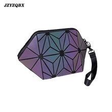 Jzyzqbx портативная косметичка индивидуальная светящаяся дизайнерская