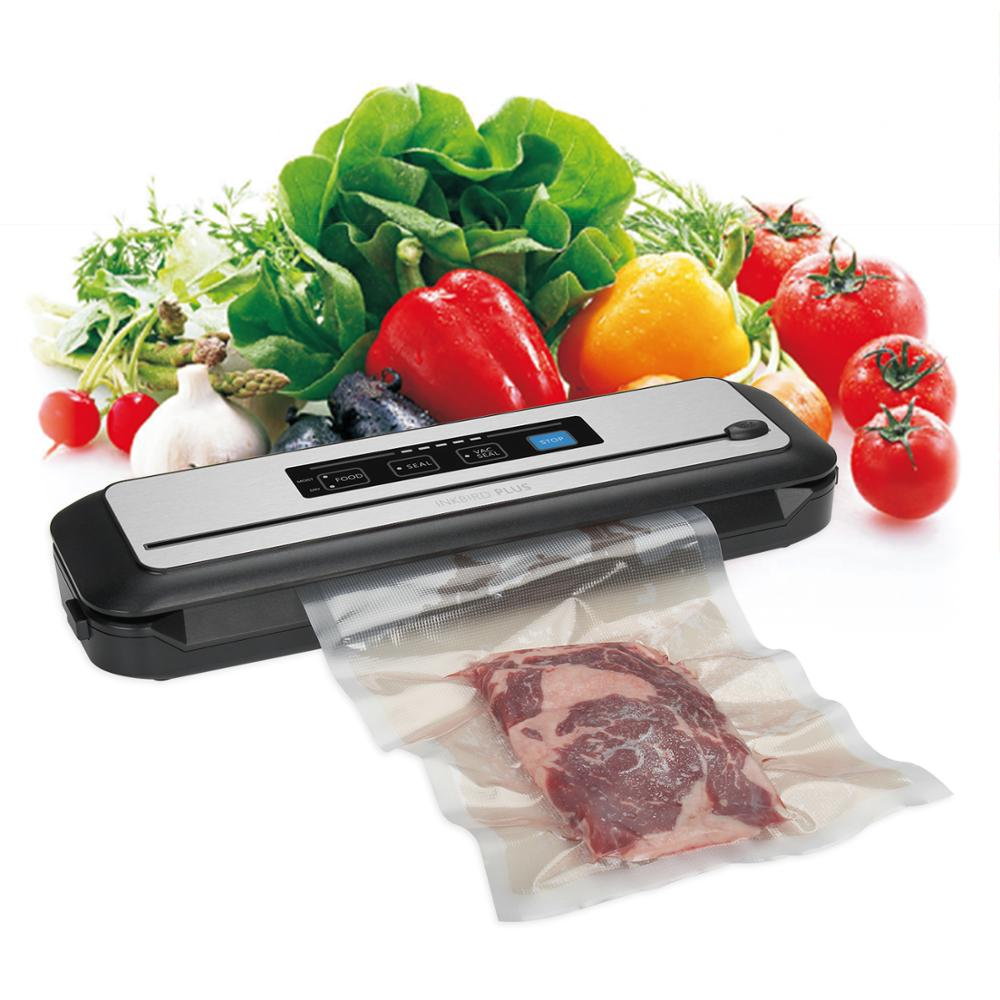 Inkbird Vacuum Food Sealer INK-VS01 Automatic Sealing Machine For Food Preservation With Dry amp Moist Modes Built-in Cutter
