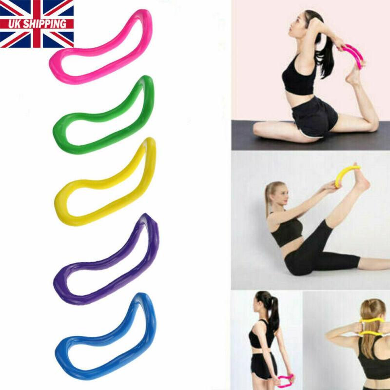 Yoga Ring Fitness Circle Exercise Workout Yoga Circle Stretch Pilates Ring