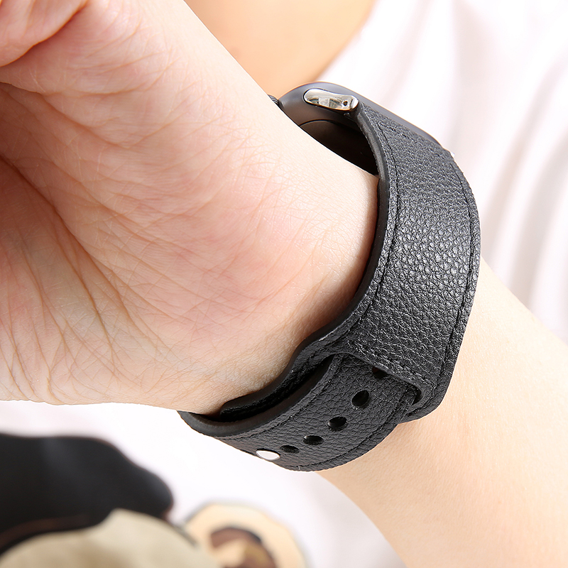 Leather Strap For Apple Watch Band 42mm 38mm 40mm 44mm Sports High-quality Correa For Apple IWatch Bracelet 4 3/2 Belt