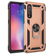 Sergeant anti-fall armor mobile phone shell car magnetic FOR:XiaoMi RadMi Note7 9 9SE ring bracket protective cover case
