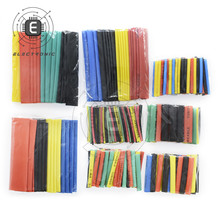 Tubing-Wrap-Sleeve 328pcs Electrical-Cable-Tube-Kits Heat-Shrink-Tube Mixed-Color Car