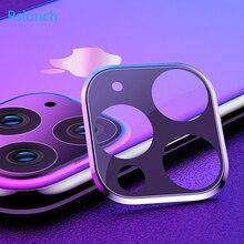 Rsionch para 2019 novas maçãs iphon 3d voltar câmera lente protetor de tela para iphone 11 pro max 11 pro 11