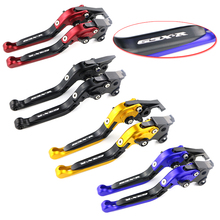 Brake Levers For Suzuki GSXR1000 2001 2002 2003 2004 CNC Foldable Extendable Adjustable Brake Clutch Lever GSX-R1000 2001-2004 цена и фото