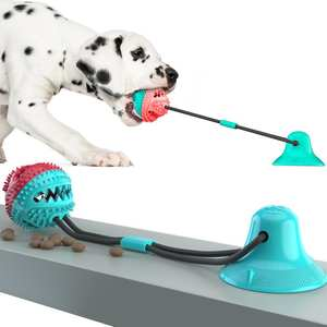 Dog-Toy Suction-Cup Durable-Rope Interactive Molar Bite Tog Chewing/teeth-Cleaning For Dogs