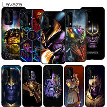 WEBBEDEPP The Avengers Groot Deadpool Thanos Custodia Morbida per Huawei Honor 30 P40 V30 Nova 6 7 SE Pro Max copertura(China)