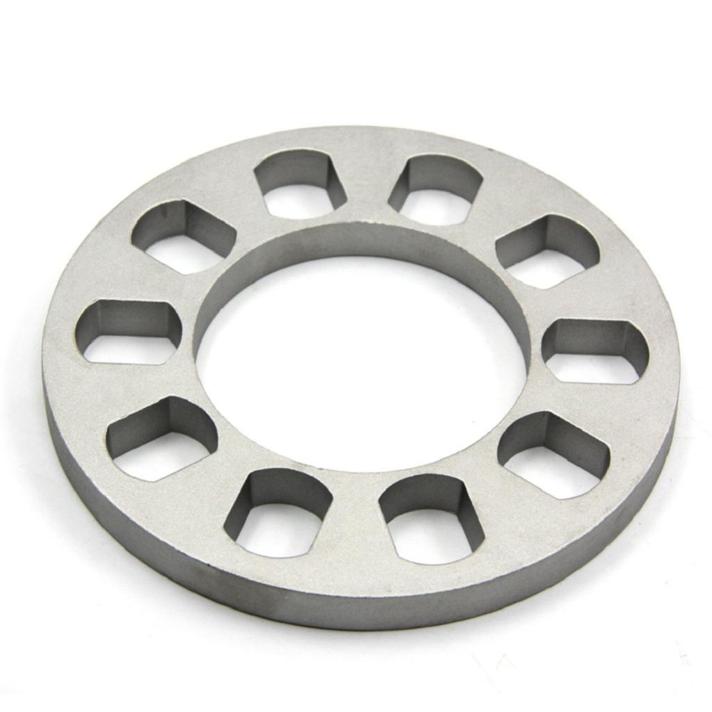 Replacement 5 Hole 1/2'' Car Aluminium <font><b>Wheel</b></font> <font><b>Spacer</b></font> 5 lugs <font><b>5x114.3</b></font> 5x120 5x120.7 5x127 image