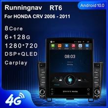 "9.7 ""Android 10,1 Für HONDA CRV 2006   2011 Tesla Typ Auto Radio Multimedia Video Player Navigation GPS RDS keine dvd"