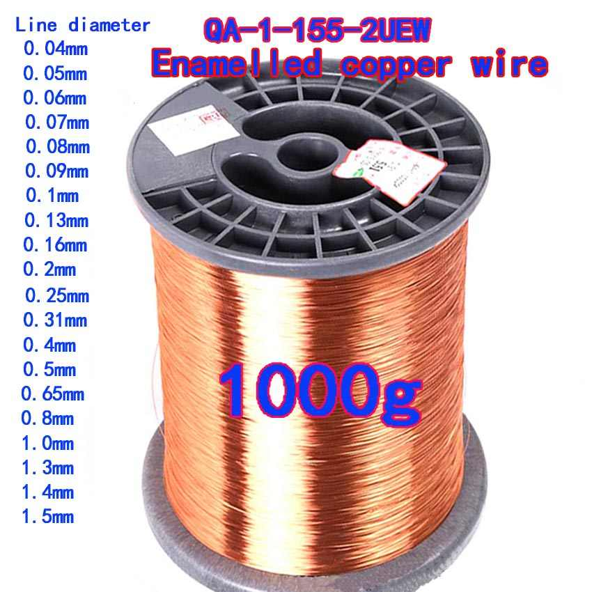 COIL WIRE WINDING WIRE 1KG SPOOL MAGNET WIRE 1.90mm ENAMELLED COPPER WIRE