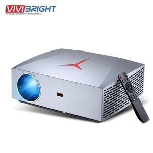 VIVIBright F40UP 4K Full HD проектор 3D Real 1080P 2 + 16 ГБ Android 6,0 wifi bluetooth видео проектор ТВ палка PS4 HD