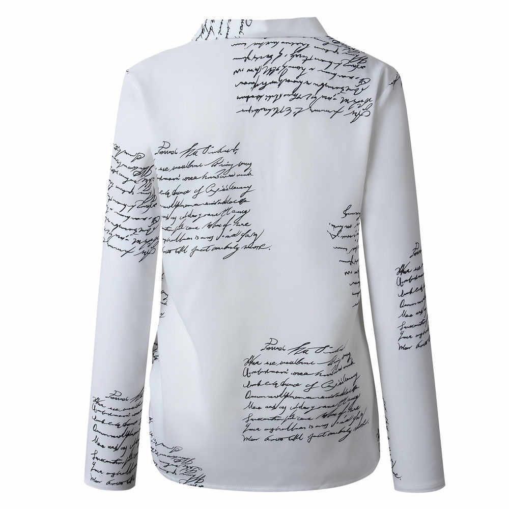 Yeni bluz kadınlar Casual çizgili gömlekler bluzlar kadın gevşek Blusas sonbahar güz rahat bayanlar ofis bluzlar üst seksi J26
