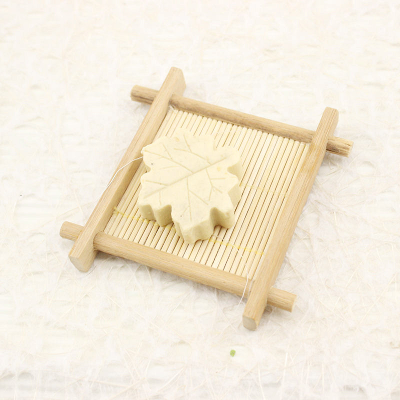 Natural Bamboo Wood Bathroom Shower Soap Tray Dish Storage Holder Plate New W815