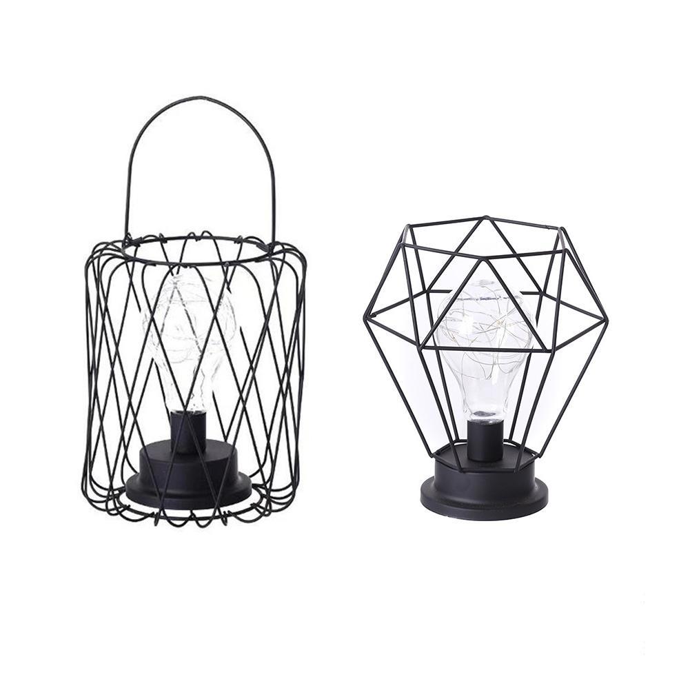 Ретро настольные лампы, светодиодный ночник, спальня, гостиная, прикроватная лампа, лампа для дома, Рождественское украшение
