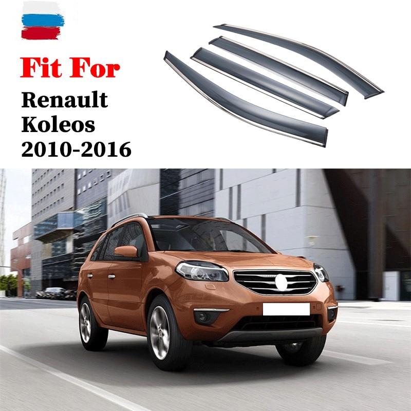 Купить для renault koleos 2010 2016 оконный козырек автомобильный дождевой