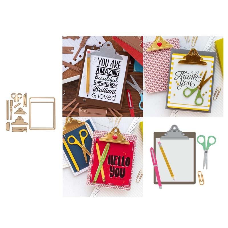 Metal Cutting Dies Folder Cut Die Mold Decoration Scrapbook Paper Craft Knife Mould Blade Punch Stencils