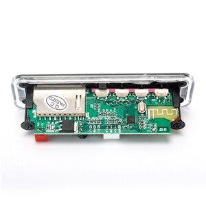 Image 3 - 5V 12V samochodowy armatura samochodu mp3 odtwarzacz Bluetooth płyta dekodera MP3 MP3 czytnik kart MP3 moduł Bluetooth audio akcesoria z radiem FM