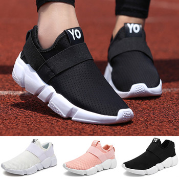 Men Women Walking Shoes Breathable Flexible Sneakers Non-Slip Outdoor Flatform Casual Sneakers Couple Shoes 2020 spring leisure women sneakers breathable outdoor walking non slip jogging lightweight shoes fashion female sneakers