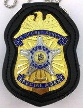 Classic U.S Secret Service / USSS, Replica Movie Prop Pin Badge