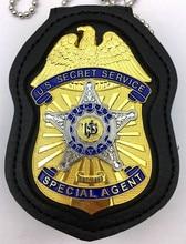 Service Secret américain classique/USSS, Badge Pin accessoire de film, réplique