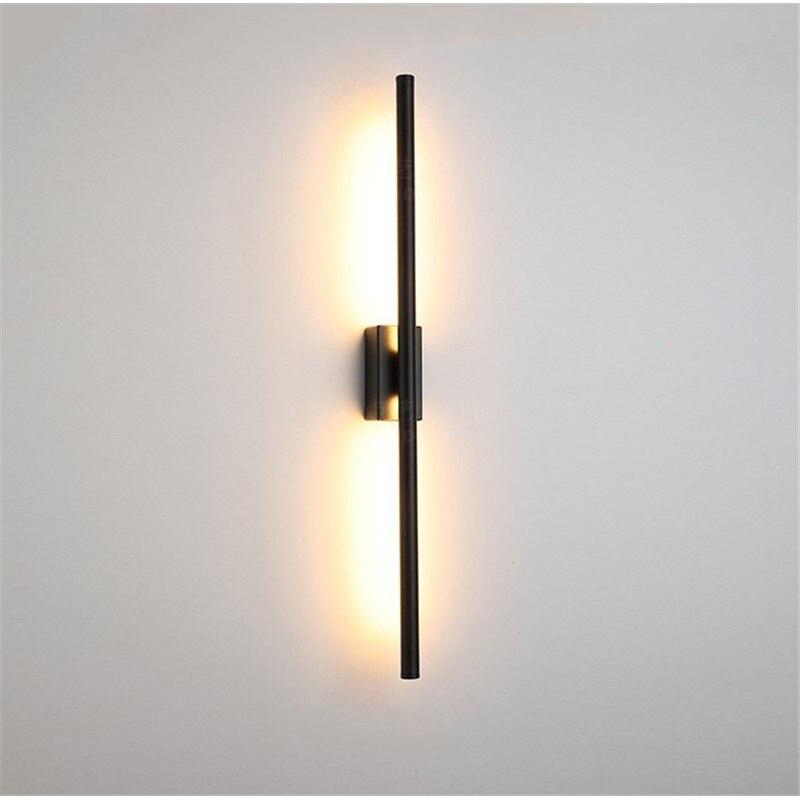 lâmpada cabeceira do corredor do hotel led luzes parede
