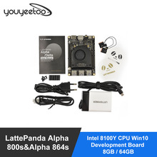 Smartfly LattePanda Alpha 800s&Alpha 864s-Intel 8100Y CPU Win10 Development Board 8GB / 64GB  latte-panda delta