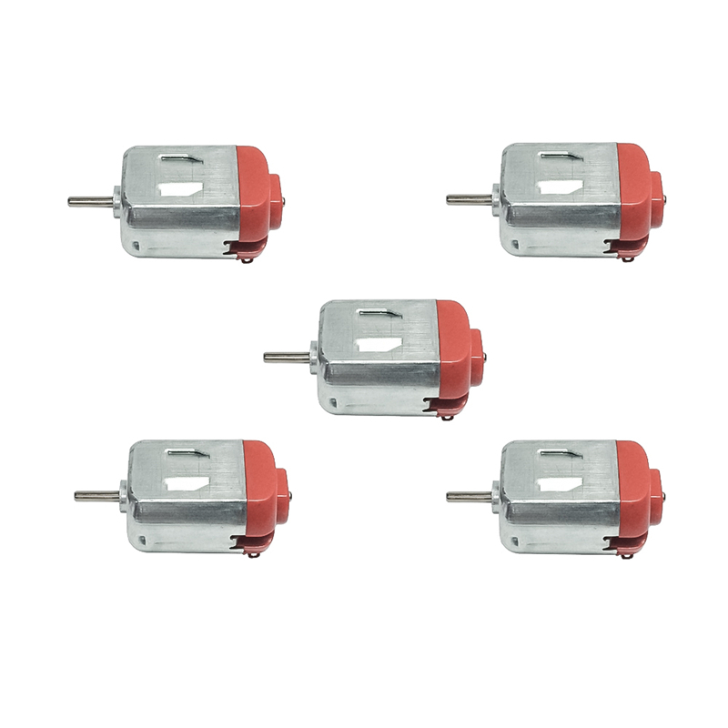 5PCS 130 DC Miniature Micro Motor 3-12V 12000Rpm High Speed 0.35A 2.2W Mini Micro DC Motor 130 For DIY Toys Hobbies Smart Car