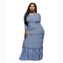 Womens Plus Size Dress Spring Long Sleev