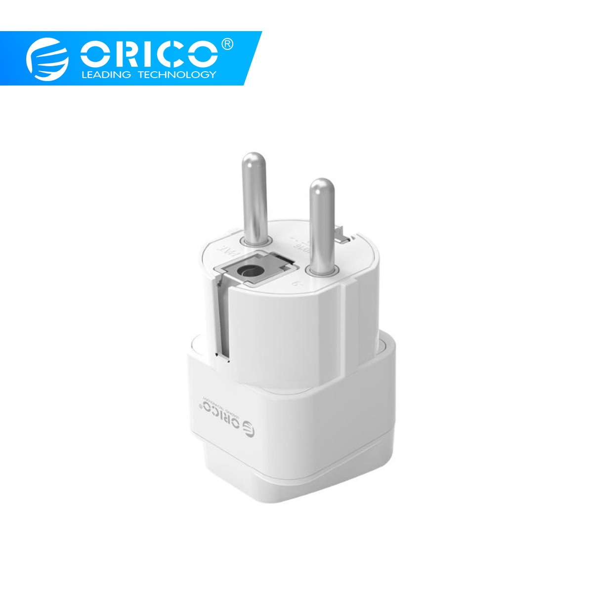 ORICO universel voyage prise électrique AU US FR IT AC prise adaptateurs de puissance convertisseur blanc prise intelligente prise murale