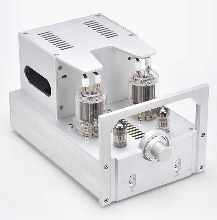 Finished FU29 +6N3 Parallel Single-ended Class A Tube Power Amplifier Support BT 5.0 stereo AMP image
