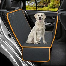 Pets Dog Back Seat Cover Protector Waterproof Scratchproof for Dogs Backseat Protection Against Dirt and Pet Fur for Cars & SUVs