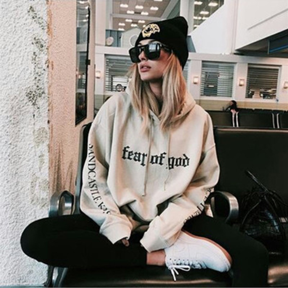Hoodies Pullover Letter Long-Sleeve Thin Loose Casual Cartoon Printing -0930 Hot-Selling title=