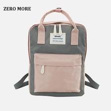 купить Fashion Women Backpack Waterproof Canvas Travel Backpack Female School Bag For Teenagers Girl Shoulder Bag Bagpack Rucksack 2019 по цене 780.27 рублей