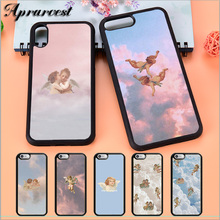Aprarvest Angels Aesthetic Aesthetics Rubber Silicone Phone Case Cover For iPhone 5 5S SE 6 6S 7 8 PLUS X XS XR MAX 11 PRO