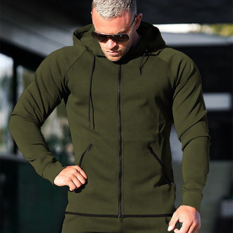 Men Hoodies Autumn Fashion Brand Pullover Solid Color Sportswear Sweatshirt MenS Tracksuits Moleton Masculino