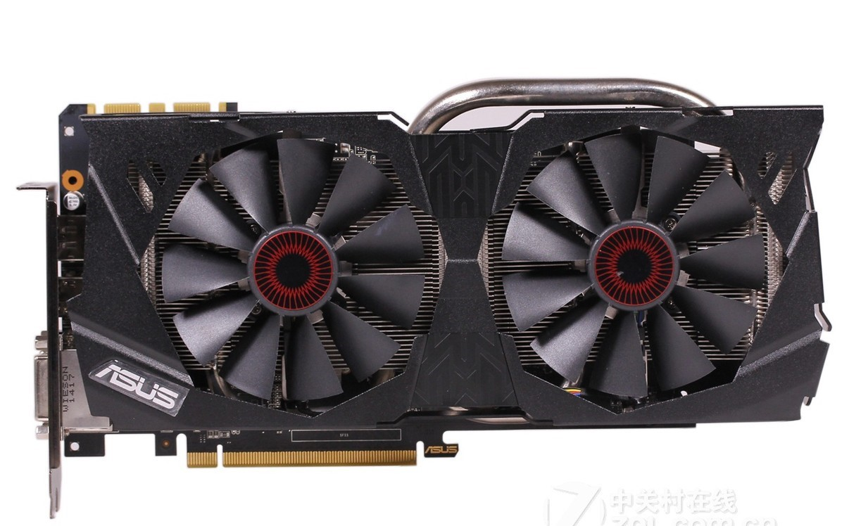 Asus Raptor STRIX GTX970-DC2OC-4GD5 4G Game Graphics Eagle Knight