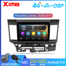 10 zoll 2din Auto Android 9,0 Auto Multimedia Player für Mitsubishi Lancer 2008 2009 2010 2016 Auto Radio GPS navigation DVD Playe