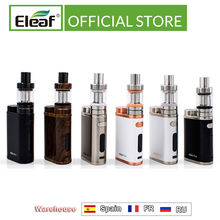 Eleaf Kit iStick Pico Original, Mini atomizador MELO III de 1 75W, 2ml o 4ml, 3 tanques, cigarrillo electrónico