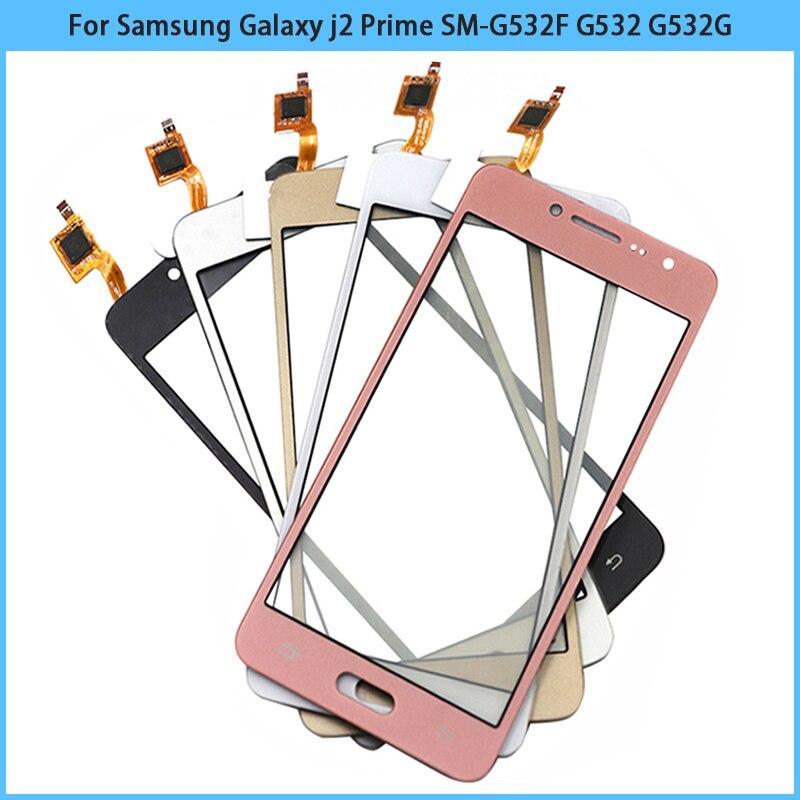 10 шт. сенсорный экран для Samsung Galaxy j2 Prime SM-G532F G532 G532G G532M Сенсорная панель Сенсорный дисплей дигитайзер стекло Replac