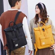 Модный молодежный рюкзак, индивидуальный Повседневный брезентовый Рюкзак, унисекс, большая вместительность, сумка для планшета, Студенческая сумка, литературный трендовый рюкзак