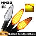 LED Turn Signals Motorcycle Flasher E4 mark Approved Motorcycle Turn Signal Light Built Relay Flashing Light 20LED Blinker