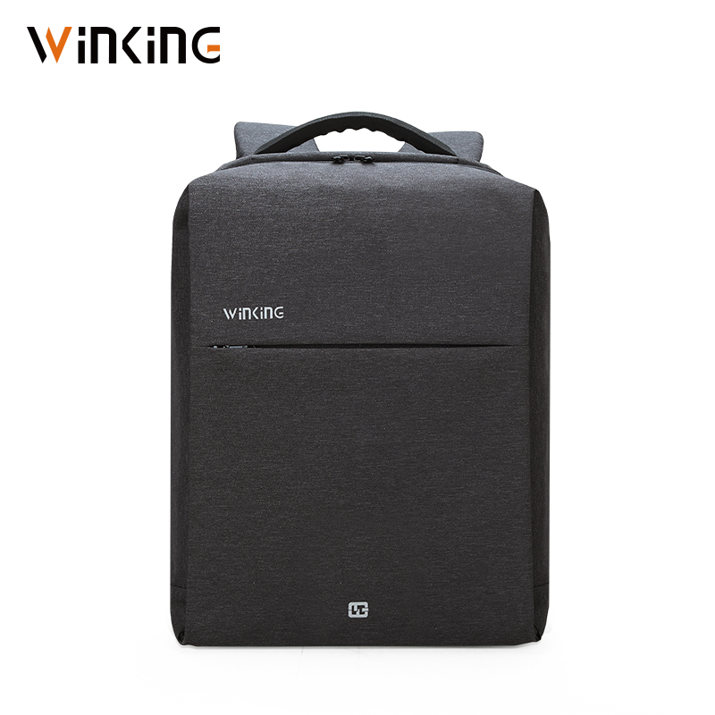 Kongsons VK Square Fashion Business Computer Bag USB Charging Anti-theft Urban Travel Backpack For Young Men