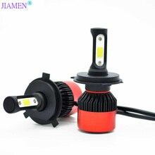 цена на 2pcs H4 H7 LED H1 H3 H8 H11 HB3 9005 HB4 9006 H27 880 881 LED Bulbs Mini Car Headlight Lamp 6000LM 72W Auto Headlamp 12V 24V