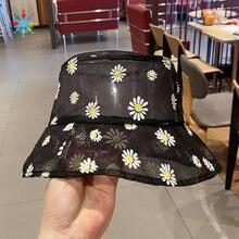 Женская прозрачная шляпа с вышитыми ковшами daisie Пляжная Панама