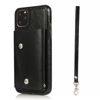 Leather Case for IPhone 11 Pro XS Max X XR 6 6S 7 8 Plus Flip Wallet Card Holder Cover Protection Phone Bags Mujer Coque