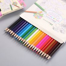 12/24 Colour Pencils Natural Wood Colored Drawing For School Office Artist Painting Sketch Supplies X6HB
