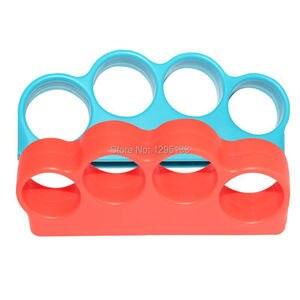 Image 4 - Nintendo anahtarı boks spor askı boks kolu kavrama Nintendo anahtarı NS için boks geliştirmek oyun deneyimi (kırmızı + mavi)