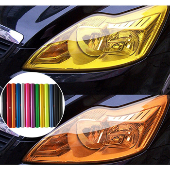 30x100cm Car Tint Headlight Taillight Light Smoke Film Sticker For BMW M3 M5 M6 E30 E34 E36 E39 E46 E60 E70 E90 F10 Car-styling image