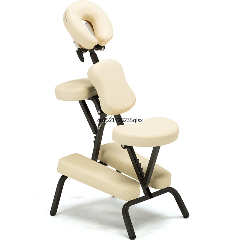 Portable Leather Pad Massage Chair Tattoo Spa With Free Carry Case Salon Furniture Adjustable Tattoo Massage Chair Sale